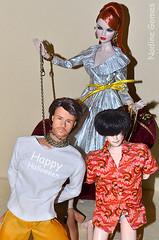 Happy Halloween (Nadine Gomes) Tags: face fashion tim spring high model doll nu erin ken barbie end envy exclusive mcgraw 2012 obitsu wclub royaltytruly