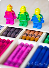 Lego crayons, next generation (Craft & Creativity) Tags: color colors kids children diy lego crafts craft crayons melted
