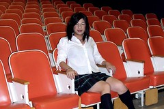 From the Archives: Lecture Hall (tgirl-katie) Tags: halloween asian costume tv cd chinese skirt tgirl transgender tranny casual schoolgirl transgendered crossdresser ts tg transsexual ladyboy whiteshirt  m2f      newhalf