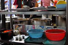 Assam laksa stall, Kuala Lumpur 2 (~Maninas) Tags: street light summer food cooking nikon asia dof market august malaysia kualalumpur dishes streetfood preparation 2012 foodstall laksa assamlaksa malaysianfood foodpreparation maninas primelense d5000 august2012
