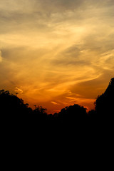 Sunset Sky (sir_watkyn) Tags: sunset sky india west canon eos rebel interestingness silhouettes hues dslr bengal t3i 600d abigfave anawesomeshot impressedbeauty flickrdiamond chakdighi sirwatkyn