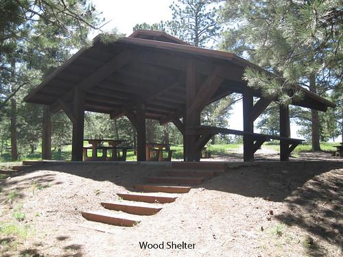 Photo - Wood Shelter