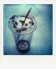 (daveknapik) Tags: test film cup polaroid sx70 blood drink drinking straw plastic cups horror bloody straws impossible plasticcups plasticcup polaroidsx70 polaroidsx70sonar px70 impossibleproject opacification px70v4b horroroid horroroids