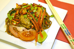 Mee Goreng (Nazrie Abu Seman) Tags: life ireland dublin food dinner canon project fry still chili dish tomatoes creative january cook delicious foodporn chopsticks noodles scrumptious 365 lime day4 fried malaysian goreng 2470l tabletop mee 2470mm springonion project365 4365 2013 malaysianstyle 5dmkii 3652013 friedeggnoodles