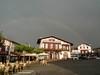 La mairie de Bidart (Bruno-Edouard Perrin) Tags: basque mairie orage bidart arcenciel lumière