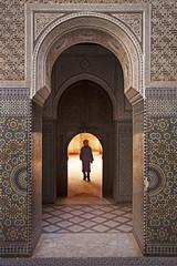 Stepping in (Gilad Benari) Tags: door urban man art silhouette print poster different traditional doorway morocco gilad  giladbenari benari