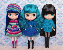 The teal girls