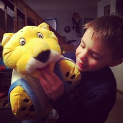 I got #Malikai a pillow pet of the Nuggets mascot, Rocky. I think he likes it! / on Instagram http://instagr.am/p/Uc9om4smqA/ (JonZenor) Tags: photos tumblr instagram