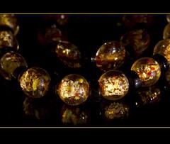 Custom order ... (Jan Gee) Tags: glass necklace jewelry bracelet bead geel sieraad ketting yellew glaskralen