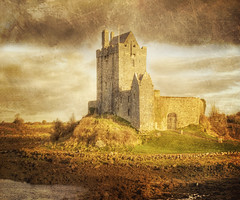 Dunguaire Castle, Kinvarra Co Galway, Ireland (Cat Girl 007) Tags: castle ireland irish historic historical classic texture florabella galway kinvara scenic picturesque celtic ancient europe moonseclipse nationalgeographic photographymypassion nikond80 architecture travel dunguairecastle dunguaire kinvarracogalway tower moonseclipsegallery29 besteverexcellencegallery creativephotocafe magicunicornverybest