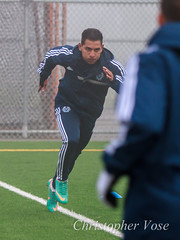 Paulo Araujo (The Vancouver Herald) Tags: canada vancouver training football britishcolumbia soccer burnaby dominion cascadia mls majorleaguesoccer 2013 associationfootball westernconference dominionofcanada trainingsessions vancouverwhitecapsfc pauloaraujo burnabylakesportscomplexwest vwfc