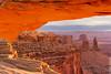 Sunrise Glow (Eddie 11uisma) Tags: park sunrise landscapes utah glow arch national canyonlands moab eddie mesa lluisma