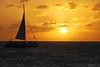 Passing by (Travnet.) Tags: sunset sea sun sunlight boot boat zee caribbean stmaarten zon sintmaarten caribisch travnet dubbauphotography