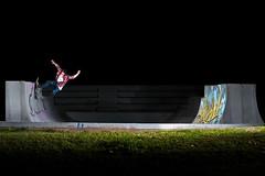 Guille Ramp - ONE FOOT (EsteveSegura) Tags: barcelona sport skate guille segura esteve salva extrem strobist canyelle