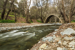Kelefos Venetian Bridge (1 of 1)-2 (Geno33) Tags: longexposure trees water canon eos woods cyprus 24105l 5dmk3