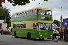 374 TCD374J (PD3.) Tags: park uk england bus water buses vintage worthing day rally cress july railway running hampshire line 17 preserved alton mid 07 daimler fleetline psv pcv anstey 2016 tcd watercressline hants southdown 374 tcd374j 374j