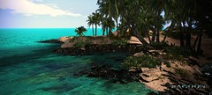 Lagoon - Tropical Rentals (Vita Camino) Tags: ocean new summer beach visit lagoon best secondlife sim vita giardini slur tropicalrentals caminosim