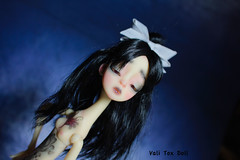Needle (Vali.Tox.Doll) Tags: ettie nefer kane neferkane circuskane circus bjd doll ball jointed makeup custo