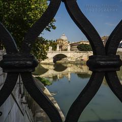 Framed (Andrea Rapisarda) Tags: roma frame vaticano sanpietro tevere river italia italy sony a6000 allrightsreserved