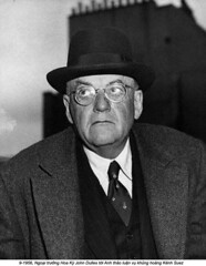 HU022660 (ngao5) Tags: people hat portraits 1 americans males prominentpersons government whites eyeglasses adults eyewear foreignoffice headgear headandshouldersportraits johnfosterdulles