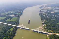EEndBridge080516_981 (Ohio River Bridges: East End Crossing) Tags: aerialinnovationsoftenn aerials eastendbridges johnnygerhart kyfw kentucky lexington walshgroupvincijv ky wwwflytenncom