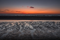 Dream (Tim Allendrfer) Tags: seascape dream light sunset sea northern colors water sand ripples waves long time exposure flowing weather shore sky clouds beach holland mood atmosphere