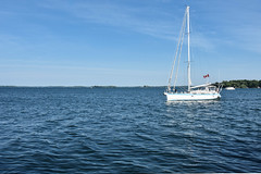 Gananoque summer sailing (PJMixer) Tags: 52weekproject gananoque nikon summer boat family river