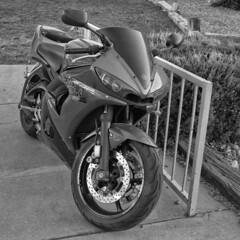 F2 Neopan 400 Bike (oldnavychief 609) Tags: nikonf2as nikkor50mmf20 fujineopan400 epsonv700 film blackandwhite motorcycle