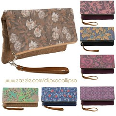 Folded clutches by ClipsoCallipso on Zazzle (clipso_callipso) Tags: clutch bag fashion fashionista fashionstyle fashionaccessories productdesign artanddesign wearableart arteverywhere artsy floral floralprint floralpattern naturelovers rosegarden accessories accessory handbag printed instadesign giftideas giftforher giftformom zazzle printshop artforlife printondemand bags clutches