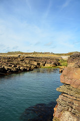 Gully (alderney boy) Tags: alderney burhou landing gully hut sandstone