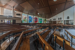 INTERIOR SHOTS OF SAINT PATRICKS CHURCH [FOR MY SECOND SESSION I HAD SOME FUN USING A 15mm LENS]-119922 (infomatique) Tags: galway interior church saintpatricks voigtlnder15mm ultrawideangle lens williammurphy sony a7rm2 ireland infomatique zozimuz fotonique