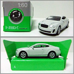 BENTLEY CONTINENTAL (2010) - WELLY / NEX (RMJ68) Tags: bentley continental supersports gt 2010 welly nex diecast coches cars juguete toy 160