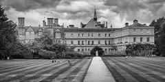 Trinity College (Stuart Feurtado) Tags: oxford oxforduniversity oxfordshire monochrome trinitycollege garden architecture park blackandwhite oxon university