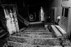 Curved space, Bovino, Puglia, Italy (Davide Tarozzi) Tags: curvedspace bovino italy street viuzza apulia borghipibelliditalia notturno notte night nightshot