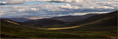 A Cairngorm Crescent (The Terry Eve Archive) Tags: terryevephotography deevalley cairngorms moor mountains hill heather mountkeen joiner panorama wide