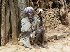 Konso old man (Ethiopia) (davidevarenni) Tags: old man konso etiopia ethiopia tribe trib