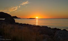 Sunset (Lena Pettersen.) Tags: sunset troms kvalya solnedgang sea arctic northernnorway norway