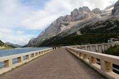 Lago Fedaia (Giorgio Pongiluppi) Tags: alpi lago marmolada alps diga barrage