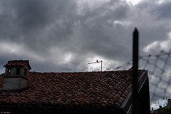 agente atmosferico (Clay Bass) Tags: 50mm saluzzo clouds d750 natural nikon pigeon roofs