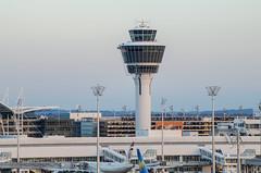 ATC Tower in Munich