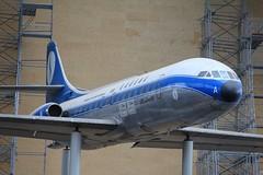 Sud Est SE210 Caravelle ~ OO-SRA  Musée Royal de l'armée Bruxelles (Aero.passion DBC-1) Tags: dbc biscove david aeropassion avion plane aircraft sud est se210 caravelle ~ oosra musée royal de larmée bruxelles