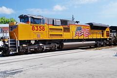 Building America (Jim Atkins Sr) Tags: unionpacific sd70ace locomotive norfolksouthern railroad northcarolina nc newbernnc newbern newbernyard sony sonya58 unionpacificrailroad norfolksouthernrailroad freighttrain freightyard