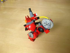 Blood Hare (Starflower.6) Tags: mfz mobile frame zero lego mech game