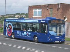 4974 (NK53UOA) Gateshead 11 (Carlisle Bus Group) Tags: gonortheast bluearrow scania wright solar wrightsolar
