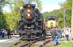 Meet Me in Peninsula (craigsanders429) Tags: cuyahogavalleyscenicrailroad peninsulaohio steamlocomotives steamtrains steamexcursions steamtrain steamonthecvsr nkp767 nickelplate767 nickelplateroad767 tracks railroadtracks passengertrains passingtrains