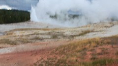 Old Faithful, Yellowstone Park, Wyoming, USA (GOD WEISFLOK) Tags: montana wyoming usa yellowstonepark gordweisflock weisflock old faithful guyser