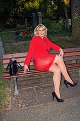 ff3b (Tinaturtle27) Tags: crossdresser transvestite pantyhose graveyard