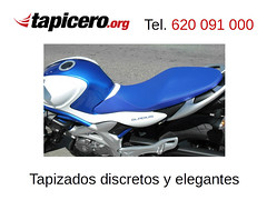 Tapicero de motos (Tapizados y gel para asientos de moto) Tags: tapicero moto tapizar asiento tapizador