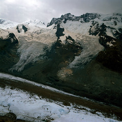 Gorner Glacier (ss9679) Tags: glacier switzerland alps hasselblad analog film gorner gornergat zermatt riffelhorn 6x6 120 500cm landscape zeiss distagon 60mm f35 cf fuji fujifilm fujichrome velvia velvia50 expiredfilm epson4180 reversal slide slidefilm mediumformat mittelformat swiss pennine valais e6 square