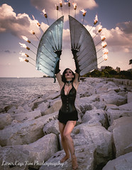 Sierra Martinez - Fire Wings (20 of 114).jpg (Lens Cap Tim Photography) Tags: sally marvel wings fire icarus steel sunset dusk beautiful chicago lakeshore lens cap tim photography nikon d750 tamron 35mm strobist
